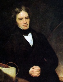Michael Faraday, portrait by Thomas Phillips c. 1841–1842[63]
