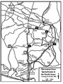 Map 7:Movement from Spotsylvania to the North Anna: Evening 22–23 May 1864.