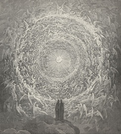 Illustration for Paradiso (of The Divine Comedy) by Paul Gustave Louis Christophe Doré