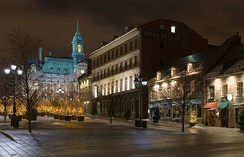 Place Jacques-Cartier is a major public square and attraction in Old Montreal.