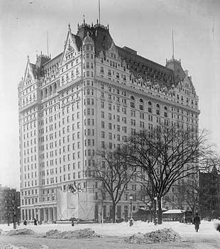 The Plaza Hotel, c.1907