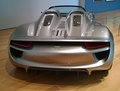 Rear view of the 918 Spyder Concept