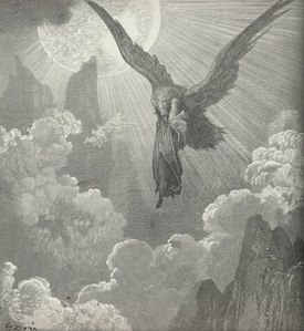 Illustration for Purgatorio (of The Divine Comedy) by Gustave Doré