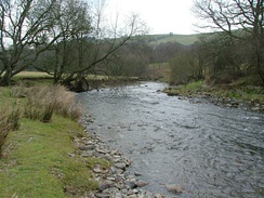 The River Ithon near Cefnllys
