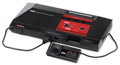 A Master System console