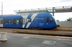 ETR 340 unit in Italy.