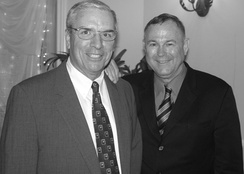 Dana Rohrabacher (right) with Steven T. Kuykendall