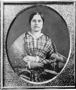 Headmistress Susan B. Anthony in 1848 at age 28