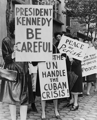 Women Strike for Peace during the Cuban Missile Crisis