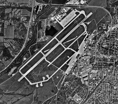 WPAFB northern section in 2000