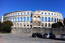 1st-century Pula Arena was the sixth largest amphitheatre in the Roman Empire