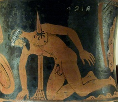 The suicide of Ajax (from a calyx-krater, 400–350 BC, Vulci)