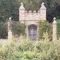 The gate folly in Acaster Malbis