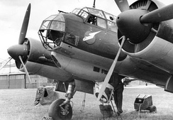 Junkers Ju 88A bomber's nose, clearly showing the classic bodenlafette, or bola, undernose form of gondola fitted, in one form or another, to almost all German bomber designs of World War II