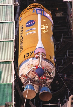A dual engine Centaur stage