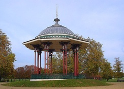 Clapham Common bandstand after renovation in 2006