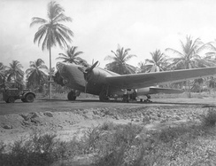 A Douglas B-18 deployed at Aguadulce Army Airfield, Panama