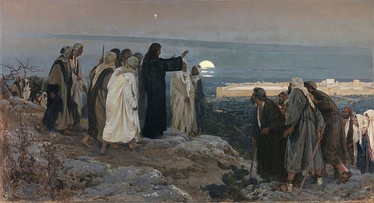 Flevit super illam (He wept over it); by Enrique Simonet, 1892.