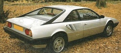 Rear view of Mondial 8