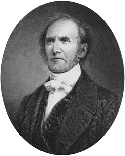 Portrait of Gardiner Spring, pastor of Brick Presbyterian Church and 55th Moderator of the General Assembly (Old School)