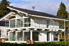 German-manufactured Huf Haus near West Linton, Scotland