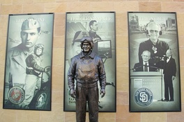 Statue of Coleman at Petco Park.