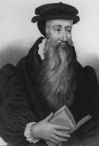 John Knox, a key figure in the Scottish Reformation