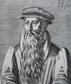 "John Knox, the ""father"" of Presbyterianism"