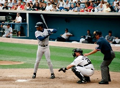 Griffey bats for the Mariners, 1997