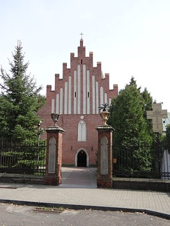Franciscan Church from 15th century in Przeworsk, Poland