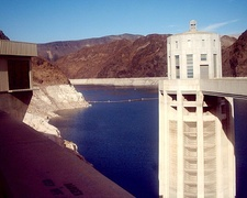 Lake Mead provides water for cities in Arizona, California, and Nevada