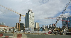 Luanda's construction boom is financed largely by oil and diamonds.