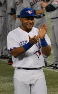 Cabrera with the Toronto Blue Jays on 2013 Opening Day