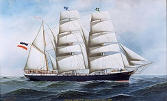"""The Prinz Albert,"" 1897, by Antonio Jacobsen"