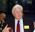 Robert Mundell CC, BA 1953, Nobel Laureate in Economics. Involved in the creation of the Euro