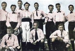 Historic first ever Juventus club shot, circa 1897 to 1898
