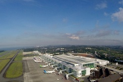 Sepinggan Airport, one of the busiest airport in Indonesia