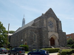 Seventh-day Adventist Church in Takoma Park, Maryland.