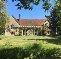 The Abbey, Sutton Courtenay, considered to be a 'textbook' example of the English medieval manor house.