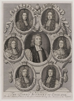 Their Excellencies the Lords Justices of England, for the administration of the Government during the absence of the King by Robert White