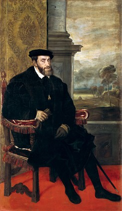 Emperor Charles V was born in Ghent in 1500