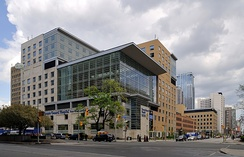 Toronto General Hospital is a major teaching hospital located in downtown Toronto.