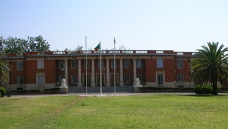 Supreme Court building in Lusaka