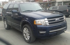 Facelifted 2015 Ford Expedition
