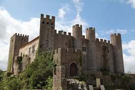 Pousada de Óbidos, installed in the medieval Castle of Óbidos