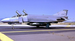 114th Tactical Fighter Training Squadron F-4C Phantom II 63-7581, about 1985