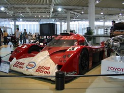 Toyota was a top challenger throughout the race.  This #3 Toyota GT-One was the lone finisher for Toyota, finishing second.