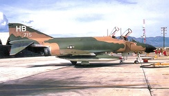 389th TFS McDonnell F-4D-31-MC Phantom 66-7715 at Phu Cat AB, South Vietnam 1969