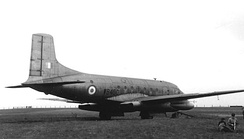 Avro Ashton 1 at Woodford Aerodrome, Cheshire, in May 1959