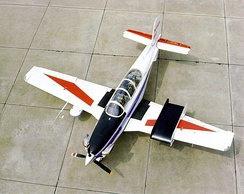 Beech T-34C Turbo Mentor operated by NASA